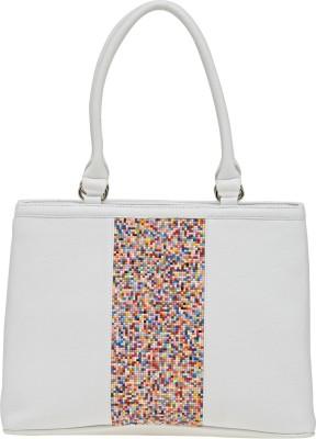 Esbeda Messenger Bag White