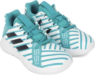 ADIDAS Boys & Girls Lace Running Shoes(Green)