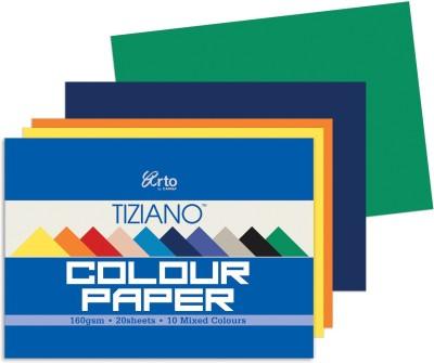Campap Tiziano Pastel A4 Coloured Paper Set of 1, Multicolor