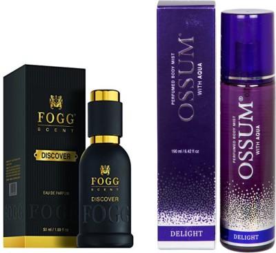 Fogg Discover Perfume + Ossum Delight Eau De Parfum (190ML)