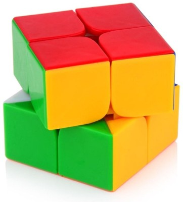 Assemble 2x2 High Speed Stickerless Speedy Rubik Magic Puzzle Cube(1 Pieces)  available at flipkart for Rs.261