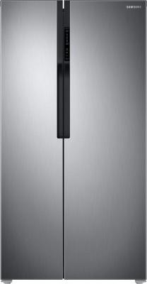 Samsung 604 L Frost Free Side by Side Refrigerator(Refined Inox(Matt Doi Metal), RS55K5010SL)