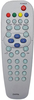 Nobita Compatible Videocon LED, LCD In-built D2H REMOTE Remote Controller(Black)