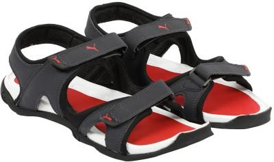 8e527e9befd9 Buy Puma Men Periscope-Black-High Risk Red Sports Sandals on Flipkart