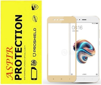 Aspir Tempered Glass Guard for Mi A1 Pack of 1