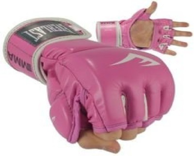 Everlast MMA Grappling Training Glove in Pink Color for Ladies Boxing Gloves