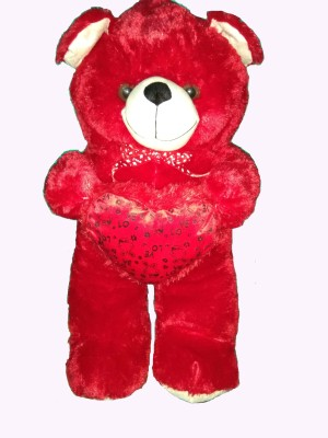 ATTRACTIVE Red Jumbo teddy- 3 feet  - 90 cm(Red) at flipkart