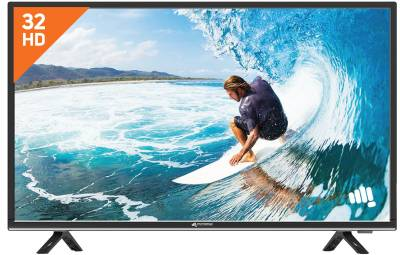 Micromax 81cm (32 inch) HD Ready LED TV - Brand warranty ₹13,999₹19,990
