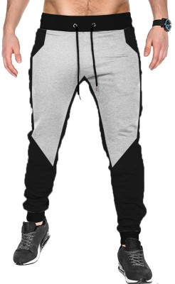 Tripr Solid Men Multicolor Track Pants