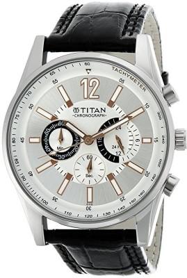 TitanNH9322SL01 Classique Analog Watch   For Men