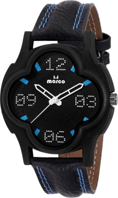 Marco MR-GR-4009-BLK-BLK  Analog Watch For Men