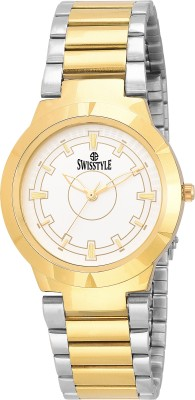Swisstyle SS-GR9316-WHT-GLD  Analog Watch For Men