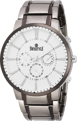 Swisstyle SS-GR600-WHT-CH  Analog Watch For Men