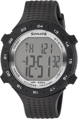 Sonata 77040PP05  Digital Watch For Men