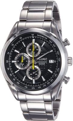 Seiko SSB175P1 Analog Black Dial Men's Watch (SSB175P1)