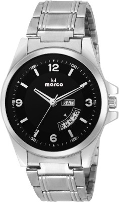 Marco MR-GR-4014-BLK-CH  Analog Watch For Men