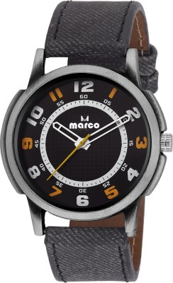 Marco MR-LR4404-BLK  Analog Watch For Men