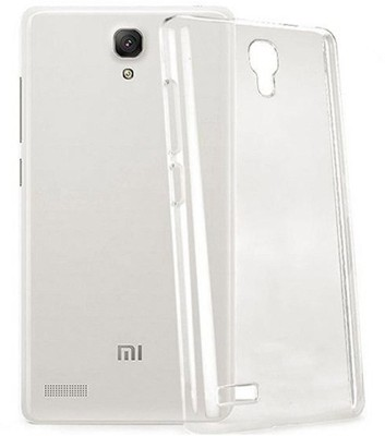 Stunning Back Cover for Mi Redmi Note Prime(Transparent, Flexible Case)