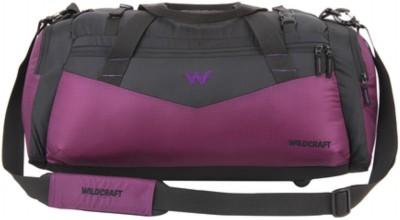 Wildcraft Tzigane Purple (Expandable) Travel Duffel Bag(Purple)
