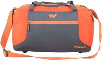 Wildcraft Nomad Orange (Expandable) Travel Duffel Bag(Orange)