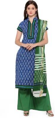 Ishin Polycotton Printed Salwar Suit Material Unstitched