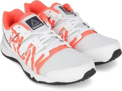 1fc0de3e630cd4 55% OFF on REEBOK Boys Lace Running Shoes(White) on Flipkart ...
