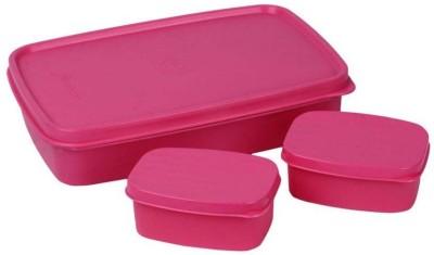 Cello Merit 3 Orange 3 Containers Lunch Box(750 ml)