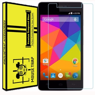 MOUSETRAPS Tempered Glass Guard for Micromax Canvas Infinity(Pack of 1)