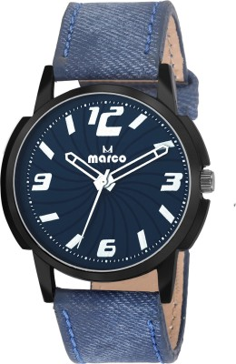 Marco MR-LR4412-BLUE  Analog Watch For Men