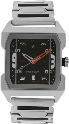 Image of Fastrack Everyday Black Dial Watch - For Boys