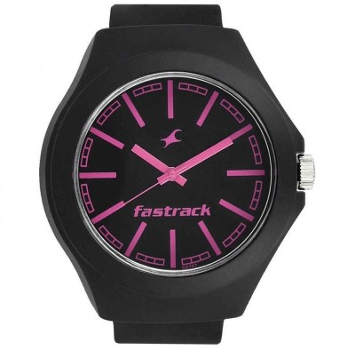 Image of Fastrack Tees Collection Black Dial Watch - For Boys & Girls