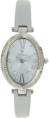 Titan 95025SL01J  Analog Watch For Women