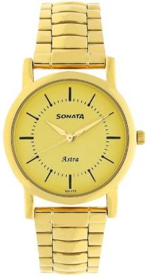 SONATA NN77049YM01 Analog Watch - For Men
