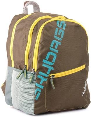 Skybags Neon 01 29 L Medium Backpack(Brown)