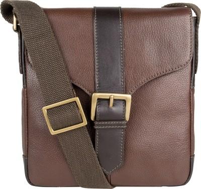 Hidesign Sling Bag(Brown)  available at flipkart for Rs.5595