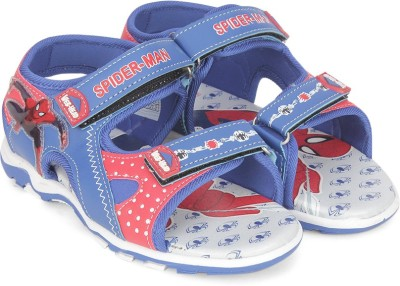 Spiderman Boys Velcro Sports Sandals(Blue)