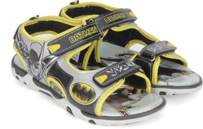 Batman Boys Velcro Sports Sandals(Grey)