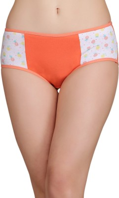 Clovia Women Hipster Orange Panty(Pack of 1)