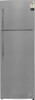 Haier 347 L Frost Free Double Door 3 Star Refrigerator(Brushline Silver, HRF-3674BS-R / E)