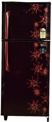 Godrej 231 L Frost Free Double Door 2 Star Refrigerator(Berry Bloom, RT EON 231 C 2.4 Br Blm)