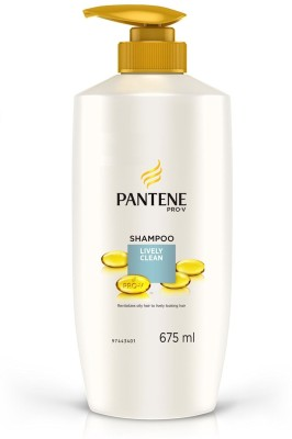 Pantene Lively Clean Shampoo (675ml)