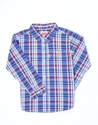 Levi's Boys Striped Casual Multicolor Shirt  available at flipkart for Rs.549