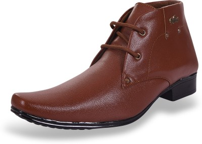 ROAD STAG Men's Formal shoes (Brown) Lace Up For Men(Brown)