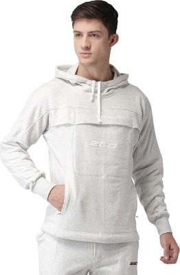 2GO Full Sleeve Solid Men Sweatshirt