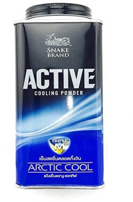 Snake BRAND Active Cooling Arctic Cool Powder 150gms(150 g)