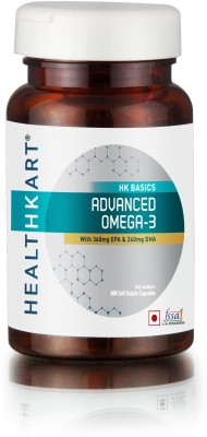 Healthkart Advance Omega-3 With 360mg Epa & 240mg Dha (60 Capsules)