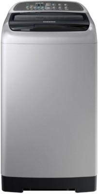Samsung 6.5 kg Fully Automatic Top Load Washing Machine Silver, Black(WA65M4000HA/TL) at flipkart