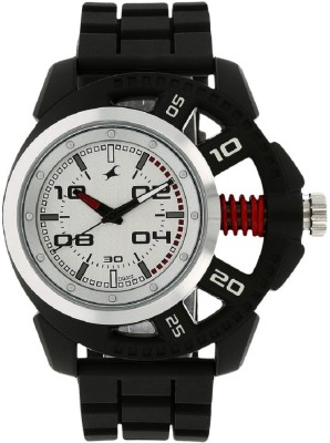 Image of Fastrack Motorheads Silver Dial Watch - For Boys