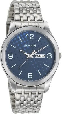 Sonata 77063SM06  Analog Watch For Men