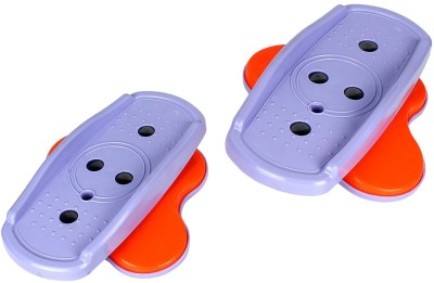 Strauss Tummy Twister Peddles, Pair Ab Exerciser(Purple)